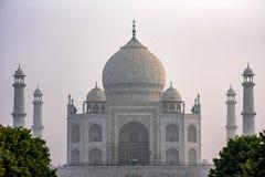 Szenische Ansicht Taj Mahals in Agra, Indien Stockbild