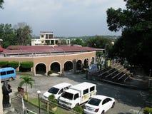 Szenische Ansicht vom Nationalheiligtum der göttlichen Gnade in Marilao, Bulacan Lizenzfreie Stockfotos