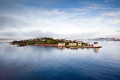 Szenische Ansicht von Alesund (Norwegen) Stockfotografie