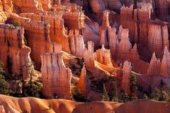 Szenische Ansicht von Bryce Canyon stockbild