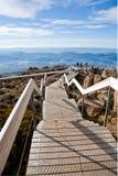 Szenische Ansicht von der Montierung Wellington lizenzfreie stockbilder