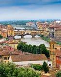 Szenische Ansicht von Florenz, Italien Lizenzfreie Stockfotografie