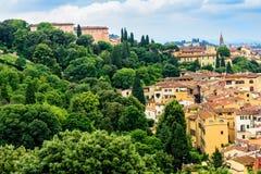 Szenische Ansicht von Florenz, Italien Stockfotos