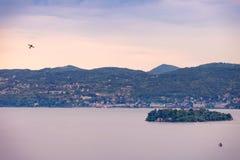 Szenische Ansicht von Isola Madre Lizenzfreies Stockfoto
