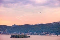 Szenische Ansicht von Isola Madre Lizenzfreie Stockbilder