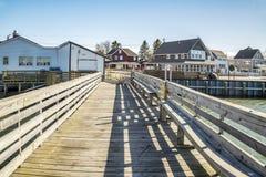 Szenische Ansicht von Maine stockfotografie