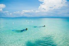 Szenische Ansicht von Meer gegen Himmel Lizenzfreies Stockbild