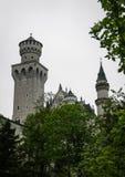 Szenische Ansicht von Neuschwanstein-Schloss im Bayern Stockfotos