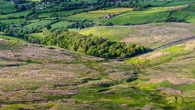 Szenische Ansicht von Pendle-Hügel lizenzfreie stockfotos