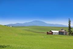 Szenische Bauernhof-Landschaft Lizenzfreie Stockfotografie