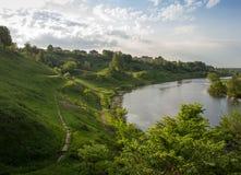 Szenische Flussansichten lizenzfreies stockbild
