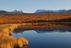 Szenische Herbstlandschaft Stockbilder