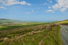 Szenische irische Naturlandschaft Lizenzfreies Stockfoto