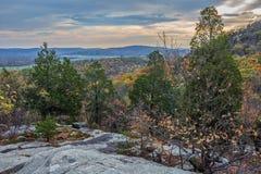 Szenische Jenny Jump State Forest stockbilder