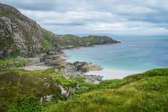 Szenische Landschaft betreffend Sleat, der südlichste Punkt von Skye schottland Lizenzfreies Stockbild