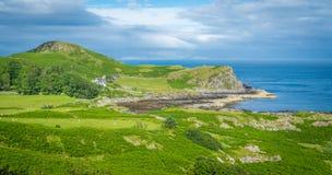 Szenische Landschaft betreffend Sleat, der südlichste Punkt von Skye schottland Lizenzfreie Stockfotos