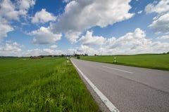 Szenische Landschaft im Bayern, Deutschland Stockbilder