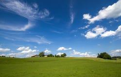 Szenische Landschaft im Bayern, Deutschland Stockfotos