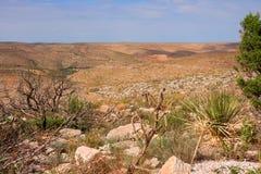 Szenische Landschaft im New Mexiko Stockbild