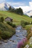 Szenische Landschaft in Livigno, Italien Lizenzfreie Stockbilder