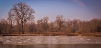 Szenische Landschaft nahe Edwardsville Illinois Stockfotos