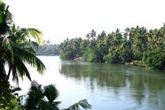 Szenische Landschaften von Flüssen Stockfotografie