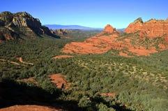 Szenische rote Steinlandschaft von sedona, in Arizona Lizenzfreies Stockbild