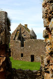Szenische Ruinen von Dunnottar-Schloss Lizenzfreie Stockfotos