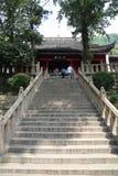 Szenische Stelle von langshan in Nantong, Jiangsu Provinz, China Stockbild