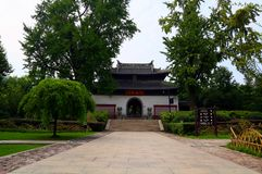 Szenische Stelle von langshan in Nantong, Jiangsu Provinz, China Stockfotos