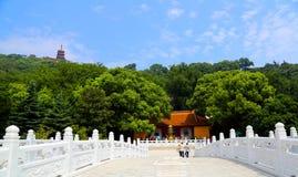 Szenische Stelle von langshan in Nantong, Jiangsu Provinz, China Lizenzfreie Stockbilder