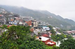 Szenische Taiwan-Landschaft bei Chiufen Lizenzfreies Stockfoto