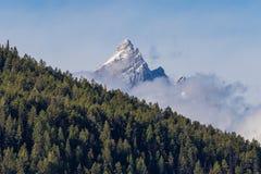 Szenische Teton-Landschaft Lizenzfreies Stockfoto