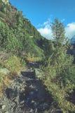 szenische und schöne Tourismusspur im Park Slovensky-raj, SL Lizenzfreie Stockfotografie