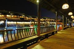 Szenische Westzone Wuzhen Stockbilder