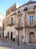 Szenischer Anblick in Matera - Basilikata, Süd-Italien lizenzfreie stockfotos
