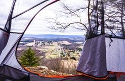 Szenischer Ansicht-Camper Stockbilder