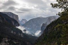 Szenischer Autumn View, Yosemite, Ca stockfotos