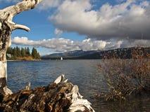 Szenischer Big Bear See, Kalifornien Stockfoto