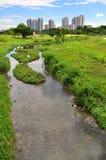 Szenischer Bishan Park Stockfotos