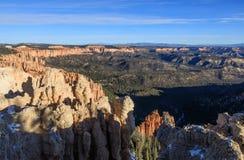 Szenischer Bryce Canyon Utah Winter Landscape Lizenzfreie Stockbilder