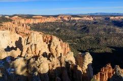 Szenischer Bryce Canyon Utah Winter Landscape Stockbild