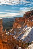Szenischer Bryce Canyon Winter Landscape Stockfotografie