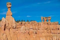 Szenischer Bryce Canyon Winter Landscape Stockfoto