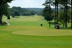 Szenischer Golfplatz Lizenzfreie Stockfotografie