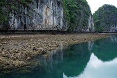 Szenischer ha-langer Schacht, Vietnam Lizenzfreies Stockbild