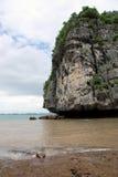 Szenischer ha-langer Schacht, Vietnam Lizenzfreie Stockbilder