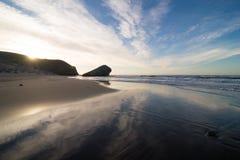 Szenischer Monsul-Strand lizenzfreie stockfotografie