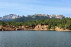 Szenischer See Stockbild