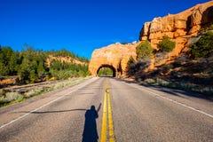 Szenischer Seitenwegtunnel Lizenzfreie Stockbilder